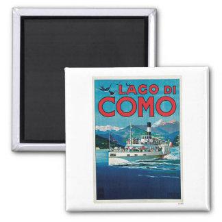 Lago Di Como Italien vintage resor Magnet