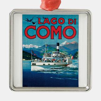 Lago di Como Julgransprydnad Metall