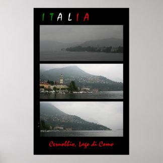 Lago di Como Poster