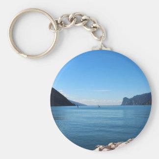 Lago di Garda Rund Nyckelring