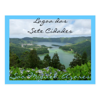 Lagoa das Sete Cidades Vykort