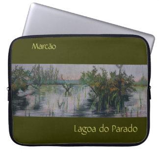 Lagoa gör det Parado gränsade anpassadebärbar Laptop Sleeve