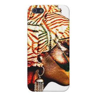 Lagos kvinna iPhone 5 fodral