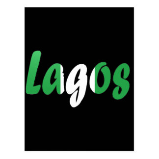Lagos Nigeria Vykort