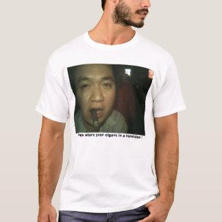 Lagra alltid dina cigarrer i en humidor t shirt