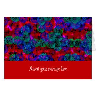 Lagrar av färghälsningkortet hälsningskort