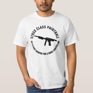 LAGRAR KLASSIFICERAR PAINTBALL T-SHIRTS