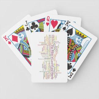 Lagrar och härdat Themed objekt Spelkort