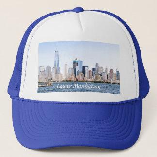 Lägre Manhattan färgSketchTrucker hatt Keps