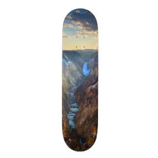 Lägre nedgångar från konstnär pekar old school skateboard bräda 18 cm