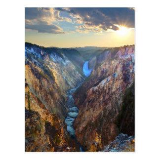 Lägre nedgångar från konstnär pekar vykort