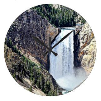 Lägre Yellowstone för Yellowstone nationalpark Stor Klocka