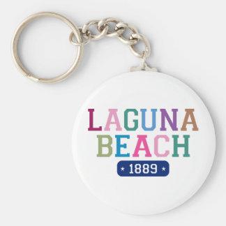Laguna strand 1889 rund nyckelring