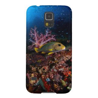 Laja undervattens- Ampat Galaxy S5 Fodral