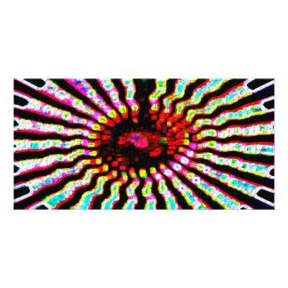 Läka stjärnan - sol- Plexes Fotokort