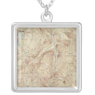 Lakan för 8 Cornwall Silverpläterat Halsband