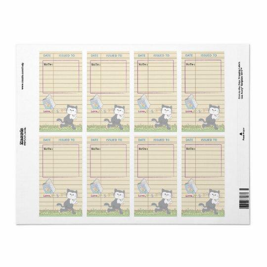 Lakan för bokägarmärke för baby showerbibliotekbok fraktsedel