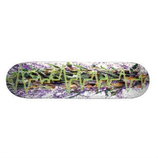 Läkarundersökningen för ogräs för Skateboarddäck | Old School Skateboard Bräda 18 Cm