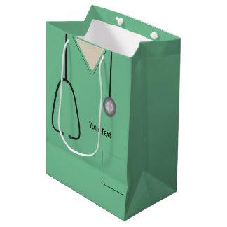 Läkarundersökningen skurar doktorsjuksköterskaLt