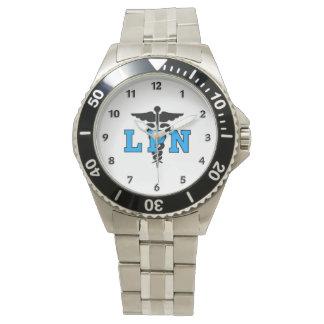 Läkarundersökningsymbol för sjuksköterskor LPN Armbandsur