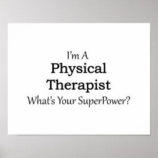 Läkarundersökningterapeut Poster
