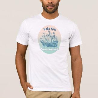 Lake Erie som högväxt frakter för reser novelty, T-shirt