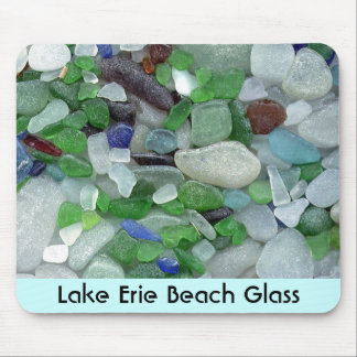 Lake Erie strandexponeringsglas Musmatta