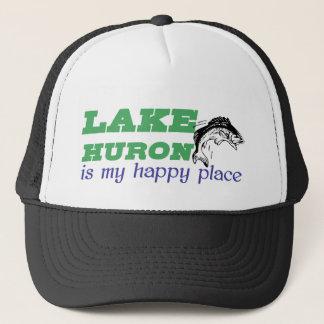 Lake Huron är mitt lyckliga ställe Truckerkeps