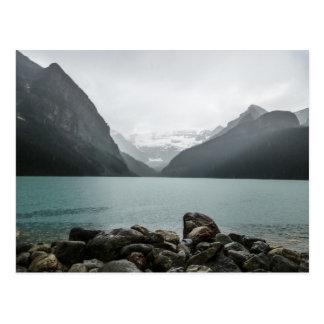 Lake Louise i regna Vykort