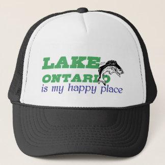 Lake Ontario är mitt lyckliga ställe Truckerkeps