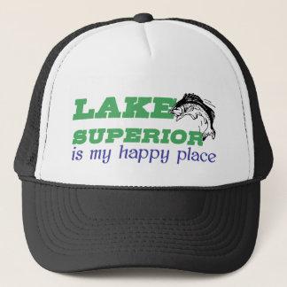 Lake Superior är mitt lyckliga ställe Truckerkeps