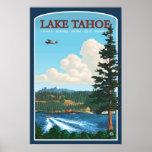 Lake Tahoe reser affischen