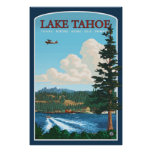 Lake Tahoe reser affischen Posters