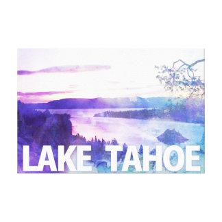 Lakes Tahoe smaragdfjärd Canvastryck
