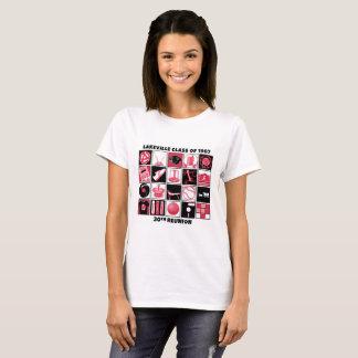 Lakeville klassificerar av 1987 kvinna T-tröja T-shirt