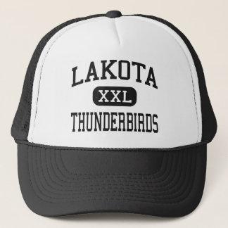 Lakota - Thunderbirds - kick - västra Chester Ohio Truckerkeps