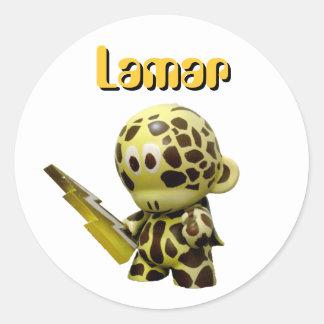Lamar- blixt kasta i sig - klistermärken
