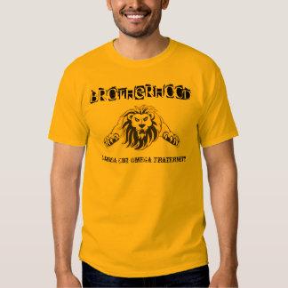 Lambda-ChiOmega broderskap, brödraskaputslagsplats Tee Shirt