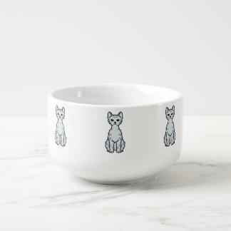 Lambkin dvärg- katttecknad mugg för soppa