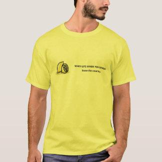 lämna--land t-shirt