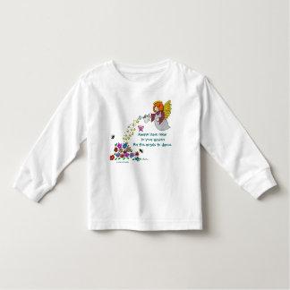 Lämnarum i din trädgård för att änglar ska dansa t-shirt