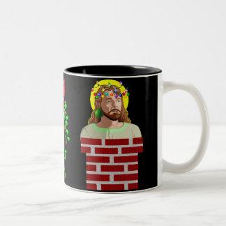 Lampglas Jesus Två-Tonad Mugg