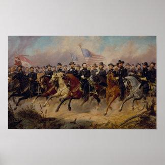 Lån och hans måla för Generals Poster