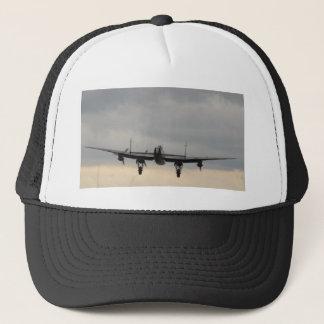 Lancaster bombplan bakifrån truckerkeps