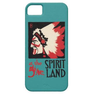 Land för ande för indisk design för indian stam- iPhone 5 Case-Mate skal