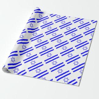 Land för flaggorIsrael blått Presentpapper