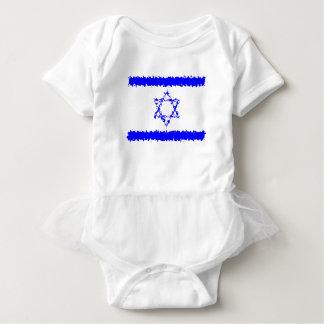 Land för flaggorIsrael blått T-shirt