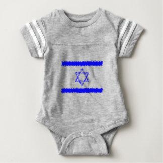 Land för flaggorIsrael blått T Shirts