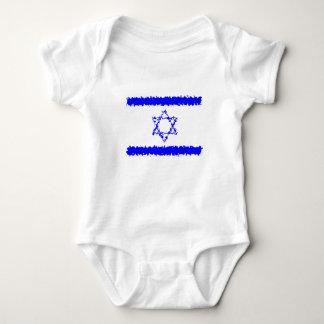 Land för flaggorIsrael blått Tee Shirt