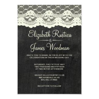 Land kritiserar bröllopinbjudningar 12,7 x 17,8 cm inbjudningskort